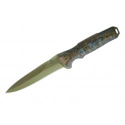 Buck 891 GCK Spear Point, nóż bojowy (12747), coyote